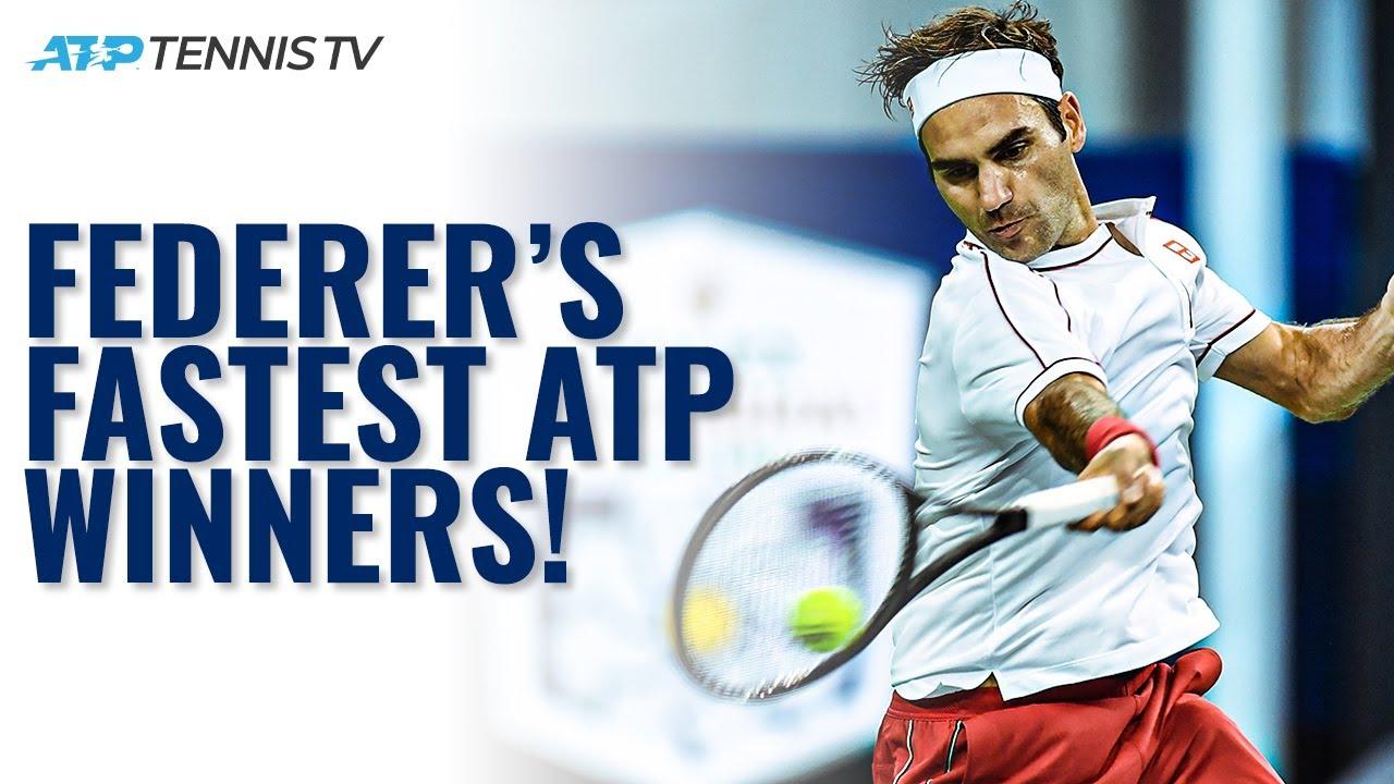 Roger Federer's FASTEST ATP Shots! 🚀