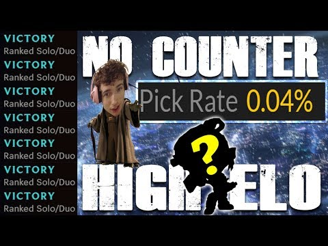 This Un-Counterable, Un-Gankable champ has a .04% pick rate on probuilds (my SECRET high elo pick)