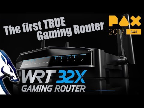 LinkSys WRT32X - The first TRUE Gaming Router PAXAus 2017