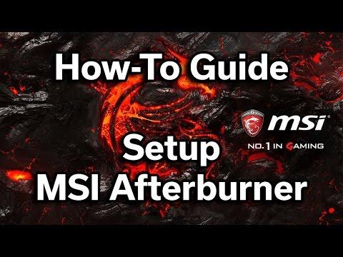 MSI Afterburner - How to setup On-Screen Display