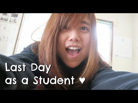 Last Day as A Student ♥