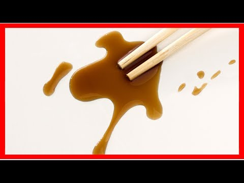 How to remove soy sauce stains from anything and everything