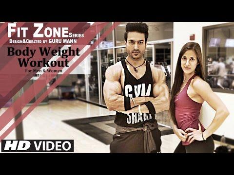 FIT-ZONE Level-1 BodyWeight Workout for Men & Women by Guru Mann