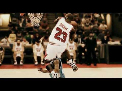 NBA 2K12 Michael Jordan Air Jordan 8s