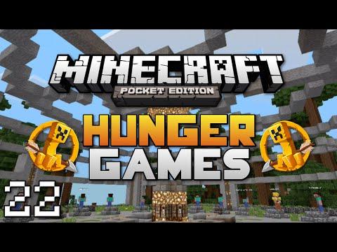 Minecraft: Pocket Edition Hunger Games #22   No Armor Challenge!