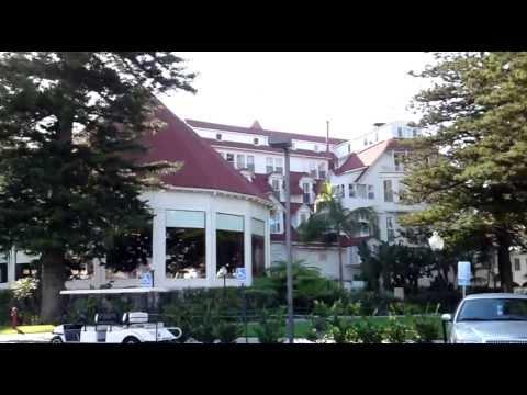 San Diego - Coronado Island - Hotel del Coronado - Entrance at front