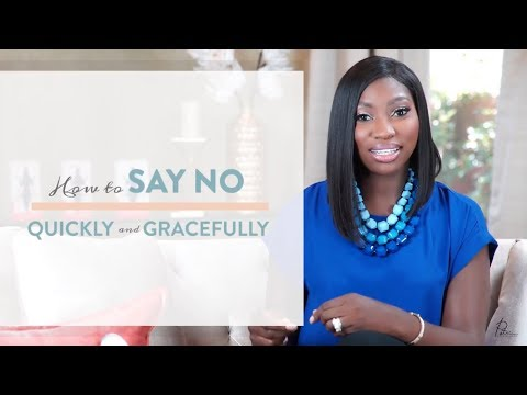 EP 5: How To Say No Quickly and Gracefully