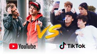 YOUTUBE VS TIK TOK - LA SFIDA - iPantellas & Q4