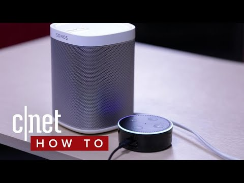 How to set up Alexa voice control for Sonos speakers (CNET How To)