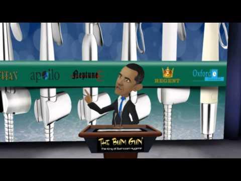President Obama Loves The Bum Gun Bidet Sprayer
