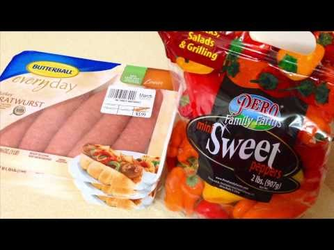 Simple Weight Loss Meal: Turkey Sausage & Sweet Peppers | Phenom Fitness