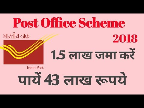 post office savings scheme 2018 Hindi ! PPF(Public Provident Fund) Scheme !