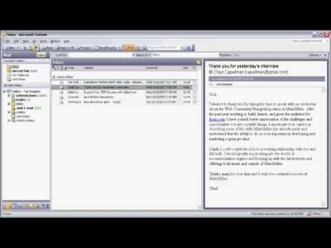 Internet & E-mail Tools : How to Delete E-mail Messages