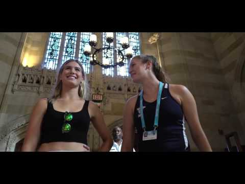 A Private Tour of Yale University with Genie Bouchard