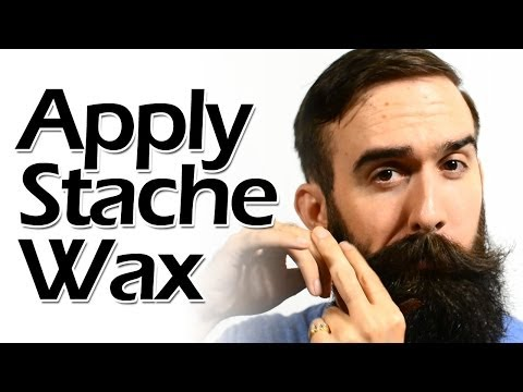 How to Apply Mustache Wax Like a Boss