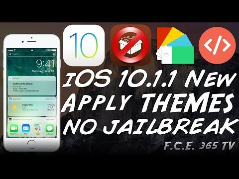 iOS 10.1.1 - How to Install Themes on iPhone - NO Jailbreak