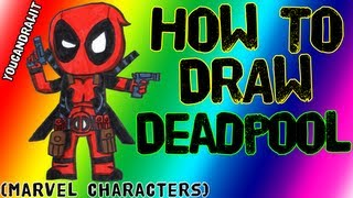 How To Draw Deadpool Marvel Characters Youcandrawit 1080p Hd