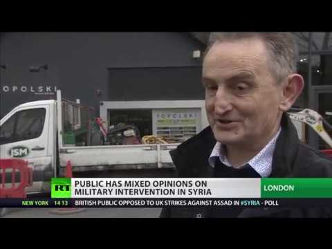 Brits have mixed views on military intervention in Syria