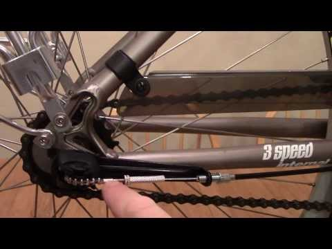 How to remove a Sturmey Archer Rear Bike Wheel