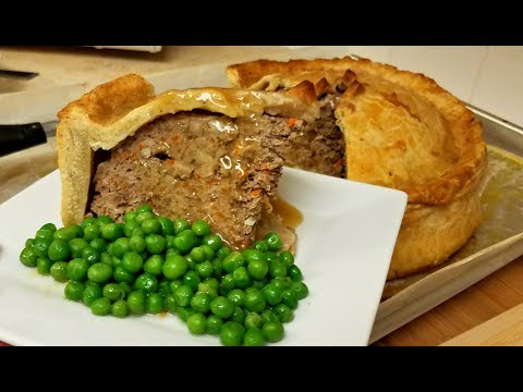 Standing Crust Meat Pie Recipe