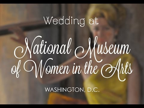 National Museum of Women in the Arts Wedding