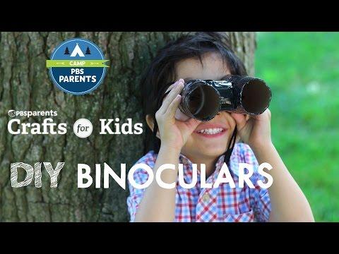 DIY Binoculars | Crafts for Kids | PBS Parents