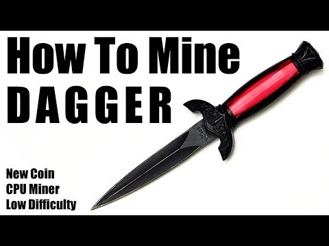 How To Mine [XDAG] DAGGER Using CPU Miner. Includes Wallet Address Creation