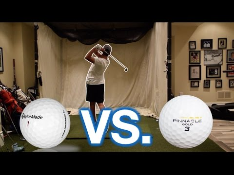 CHEAP VS. EXPENSIVE GOLF BALLS