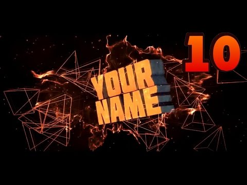 Top 10 Intro Templates of 2016 FOR FREE!!! - Cinema 4D, Adobe After Effects