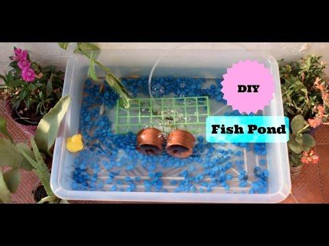 DIY Aquarium Fish Pond