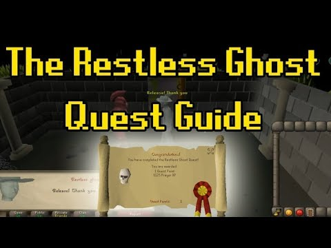 Restless Ghost quest guide osrs