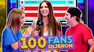 100 Fans Dijeron Ep. 18 | Hombres VS Mujeres