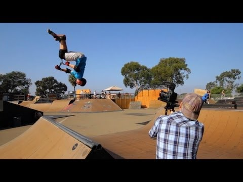 Behind The Scenes - Scooter Freestyle - Lucky Scooters