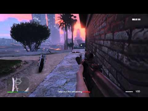 GTA V #25. First person gang attacks