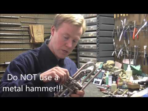 How To Remove A Stuck Valve Cap On A Trumpet