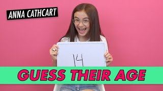 Download Anna Cathcart - Guess Their Age Video