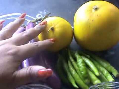 Cucumber Chutney with Brinjal (dosakaya vankaya pachhadi)