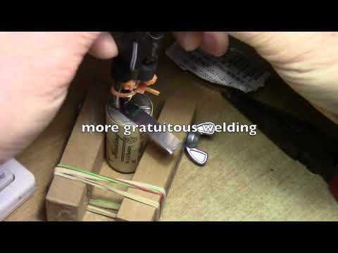 12 volt battery powered 18650 spot welder experiment Part 4: Welding .15 mm Nickel strips