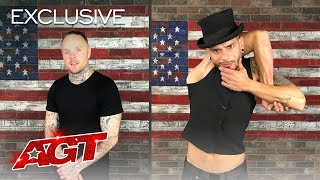 Ryan Tricks and Muy Moi Show Describe The World's Biggest Stage! - America's Got Talent 2020