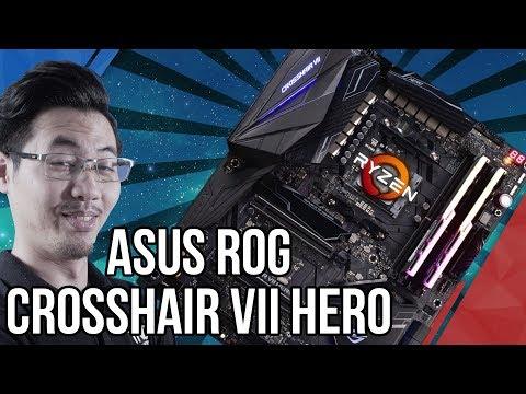 Đập Hộp Mainboard Asus ROG Crosshair VII Hero, chipset X470 CỰC XỊN Cho Dân Ép Xung!   TNC Channel