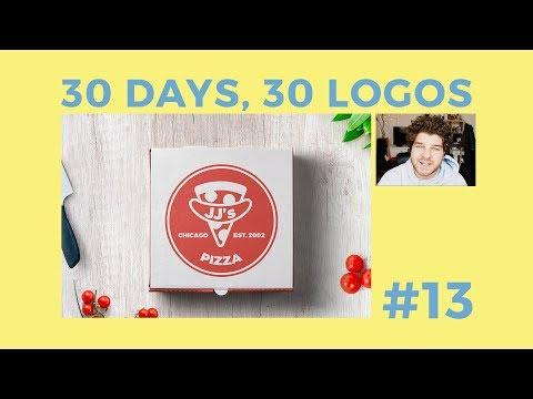 30 Days, 30 Logos #13 - JJ's Pizza