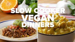 Slow Cooker Vegan Dinners • Tasty