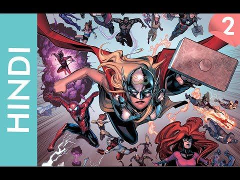Marvel CIVIL WAR 2 episode 02 /Marvel Comics in Hindi