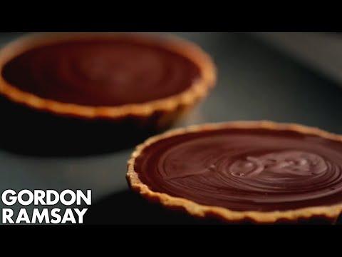 Individual Chocolate Tarts - Gordon Ramsay