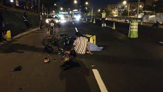 Motorista falleció en percance vial en la zona 4 de Mixco
