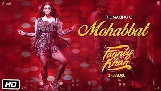 Fanney Khan Making Of Mohabbat Song  Aishwarya Rai Bachchan  Sunidhi Chauhan  Tanishk Bagchi