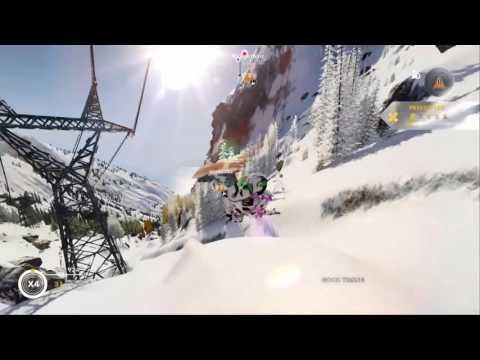 Steep BETA: 60,000 point snowboard jump.