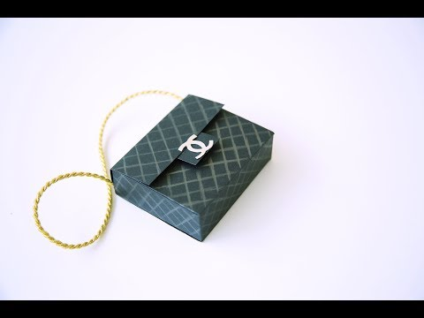 This is how you can make a Chanel handbag