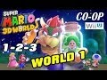 Let's Play Super Mario 3D Worlds - World 1 (1-2-3) Co-Op ...