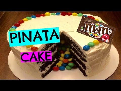 How to Make an M&M'S Piñata Cake I Episode 6 Baking with Ryan